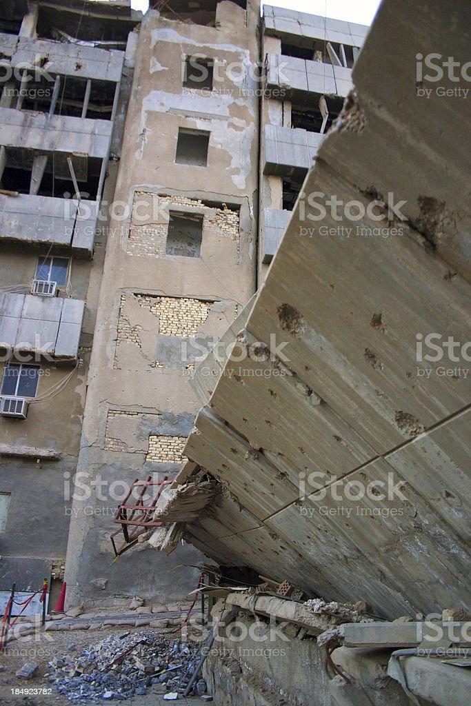 War Damage stock photo