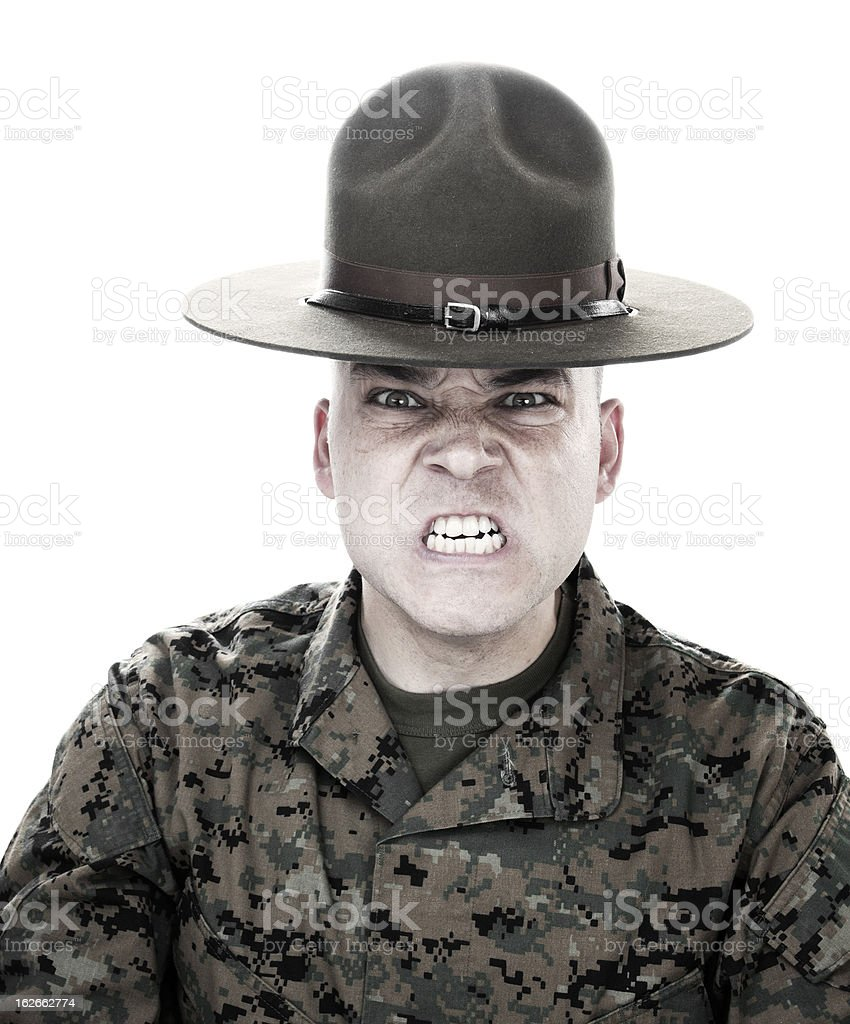 War Face royalty-free stock photo