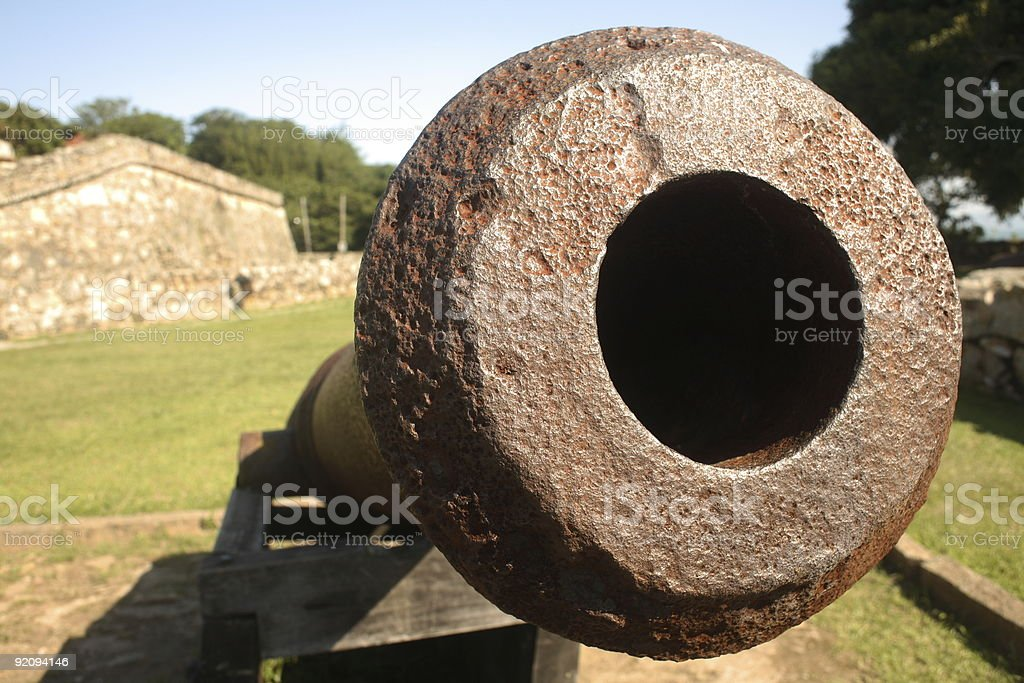War Fort Cannon royalty-free stock photo