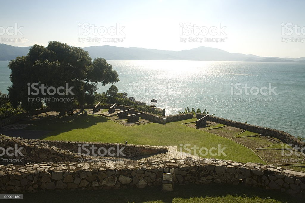 War Fort View royalty-free stock photo