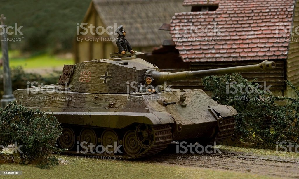 WWII war game 005 royalty-free stock photo