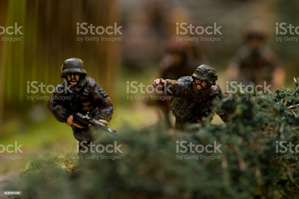 WWII war game 010 royalty-free stock photo