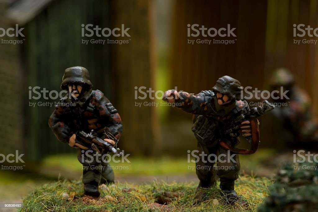WWII war game 012 royalty-free stock photo