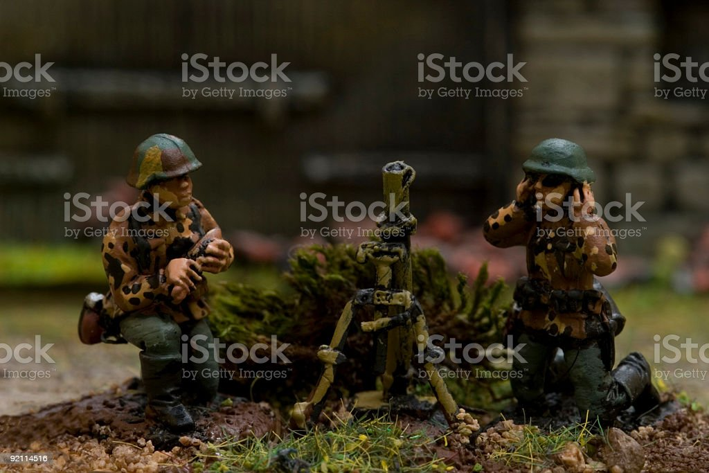 WWII war game 013 royalty-free stock photo