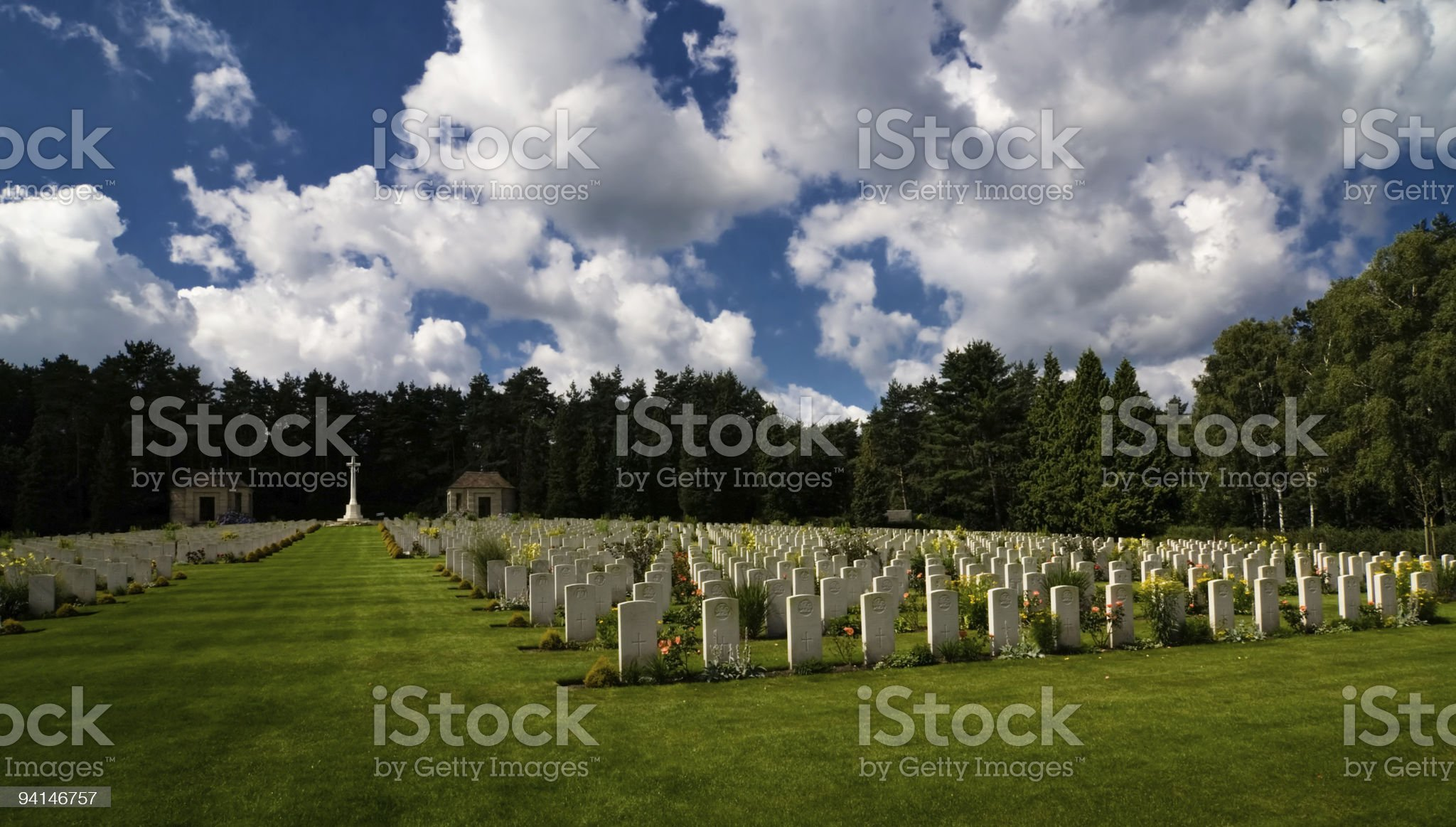 War grave royalty-free stock photo