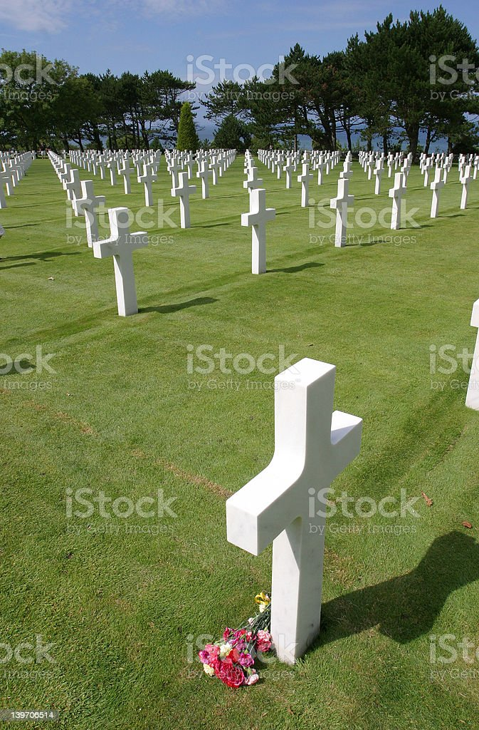 War Graves royalty-free stock photo