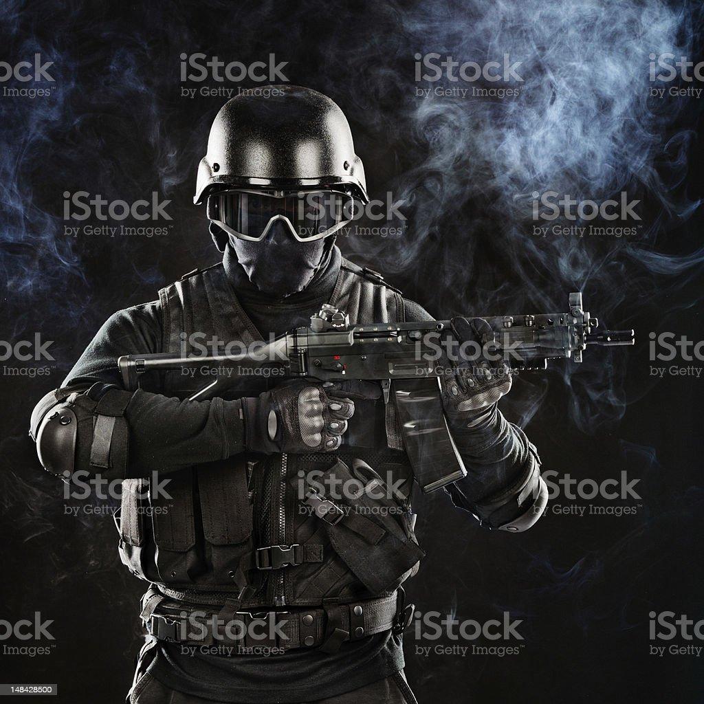 War Hero stock photo