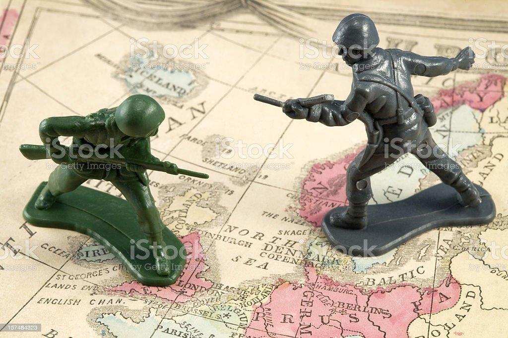 War in Europe royalty-free stock photo
