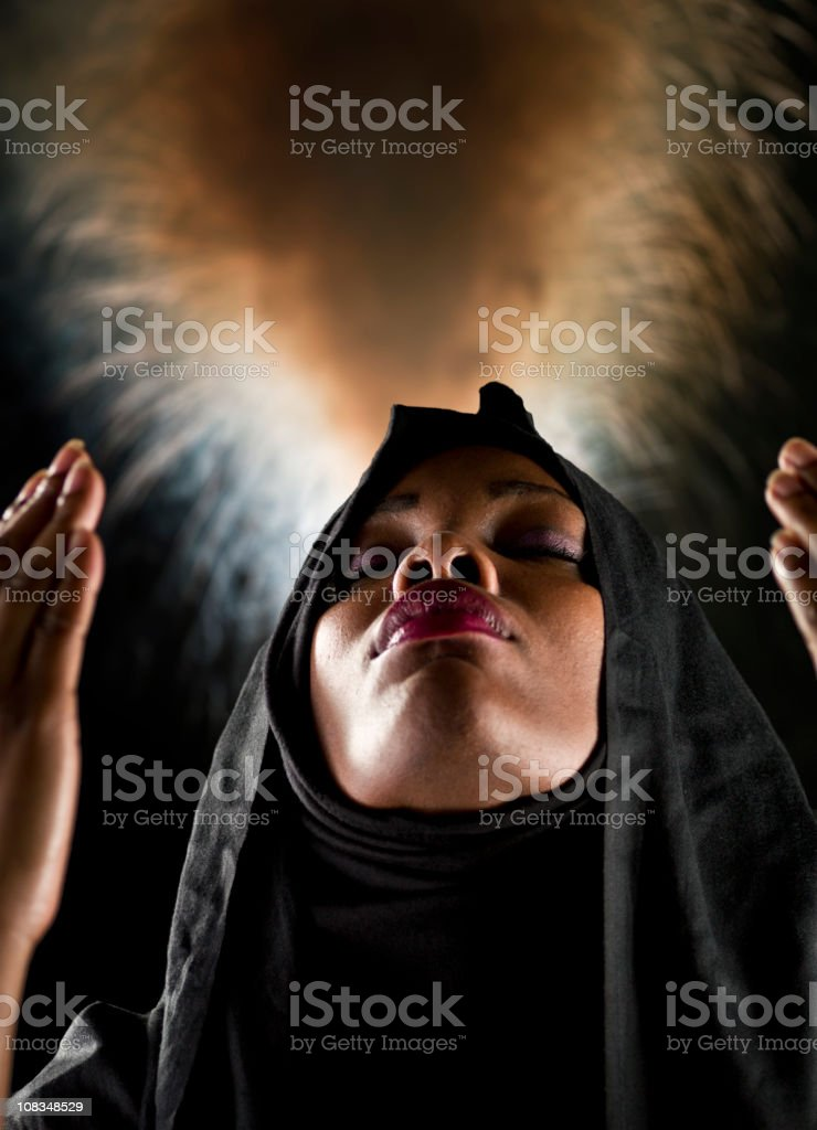 War in the Middle East stock photo