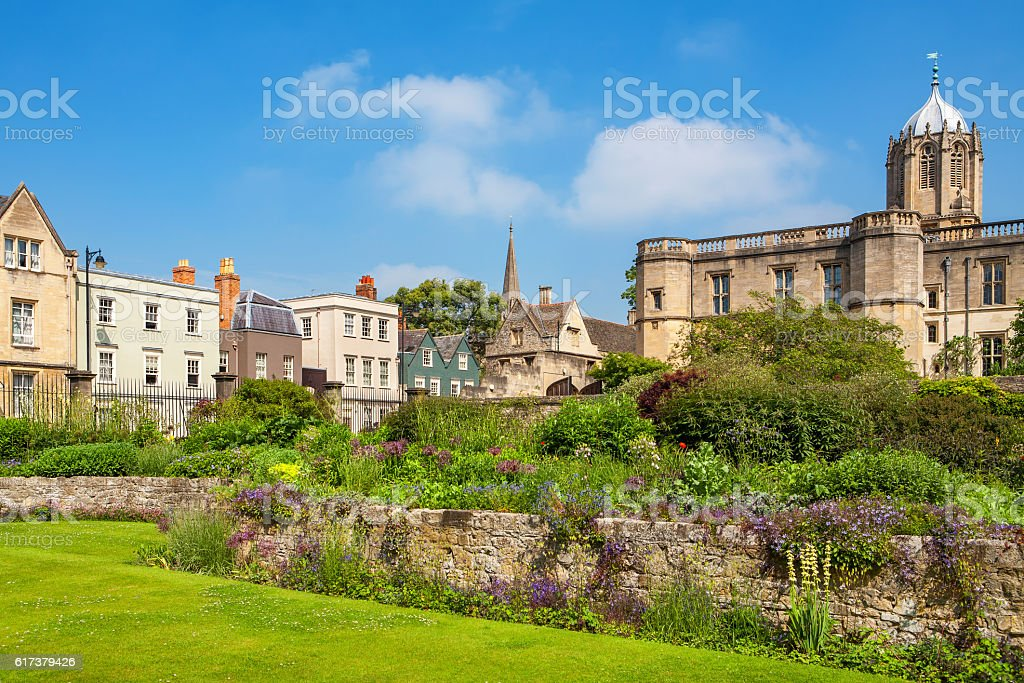 War Memorial Garden. Oxford, England stock photo