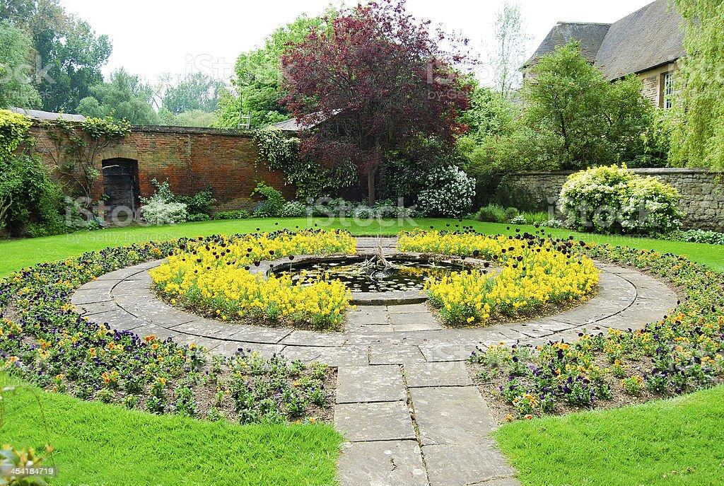 war Memorial garden stock photo
