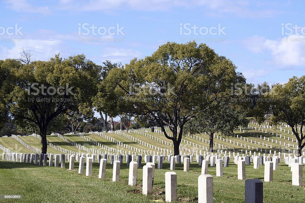 War Memorial Landscape royalty-free stock photo