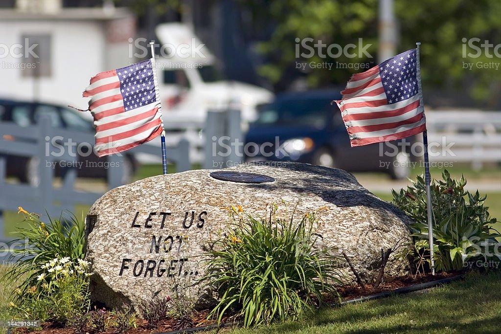 War Memorial royalty-free stock photo