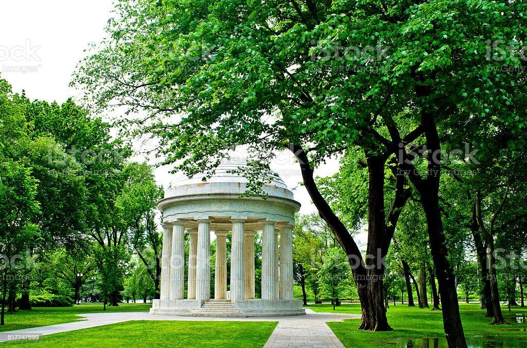 DC memorial de Guerra foto royalty-free