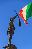 Cisternino,Apulia,Italy - November 01, 2016: War Memorial.