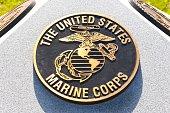 War Memorial Plaque United States Marine Corps
