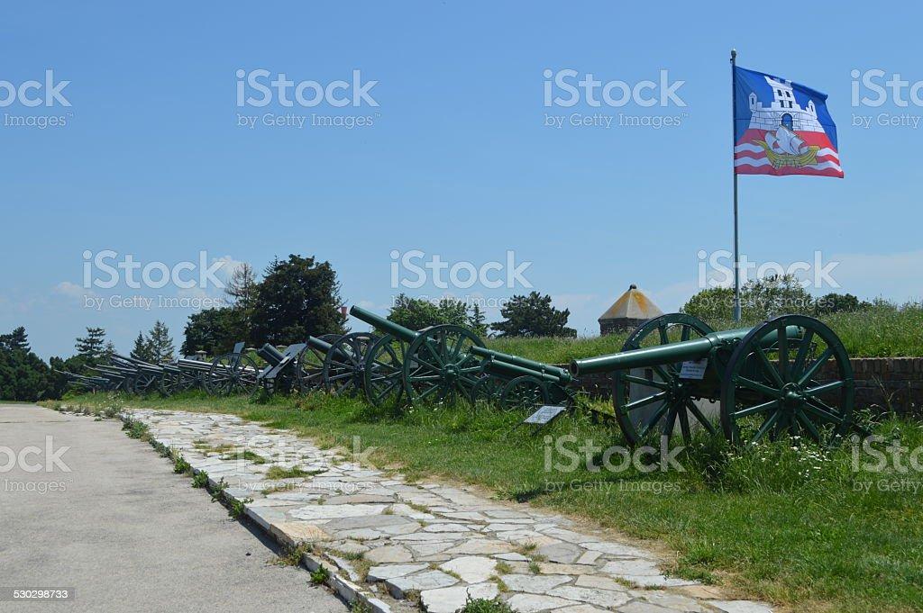 Museo de la guerra de belgrado foto de stock libre de derechos