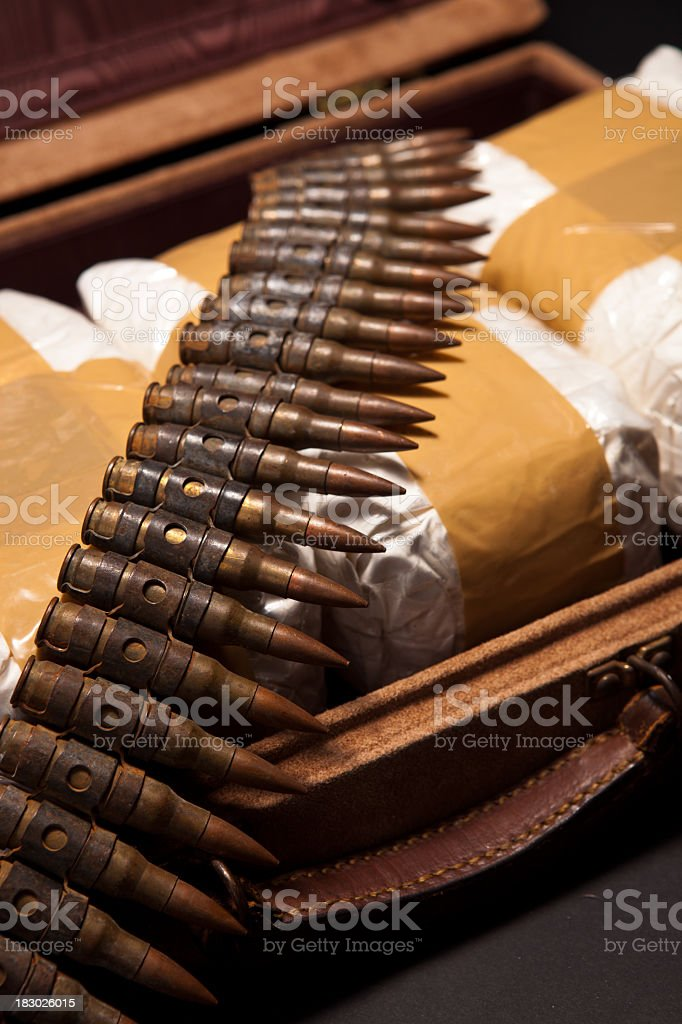 War on Drugs - Cocaine royalty-free stock photo