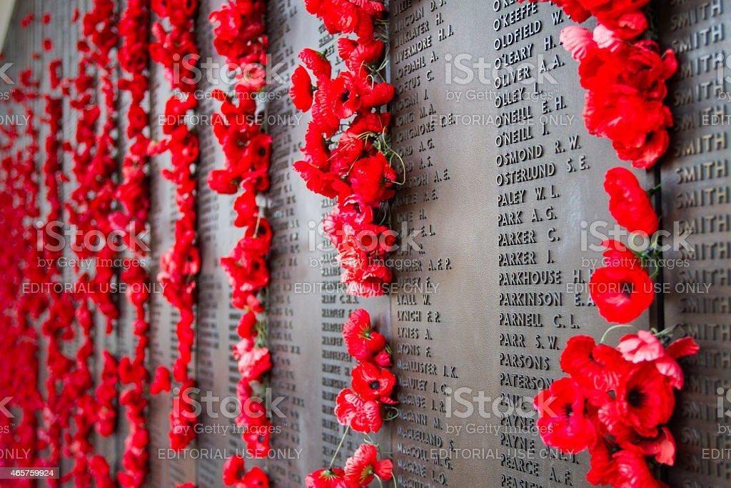 War World I Tribute stock photo