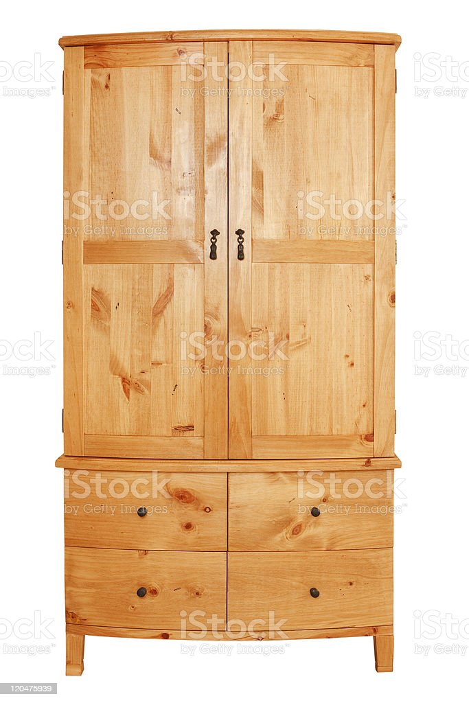 Wardrobe cutout stock photo