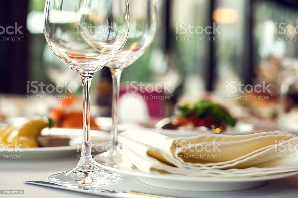 ware on a table stock photo