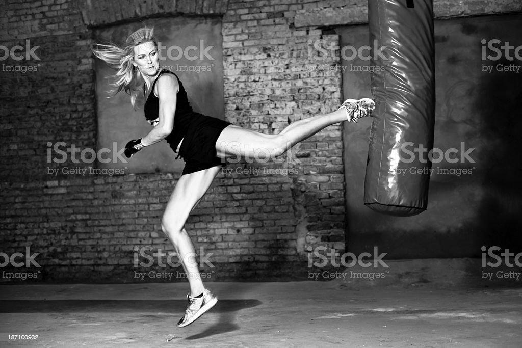 Warehouse boxing stock photo