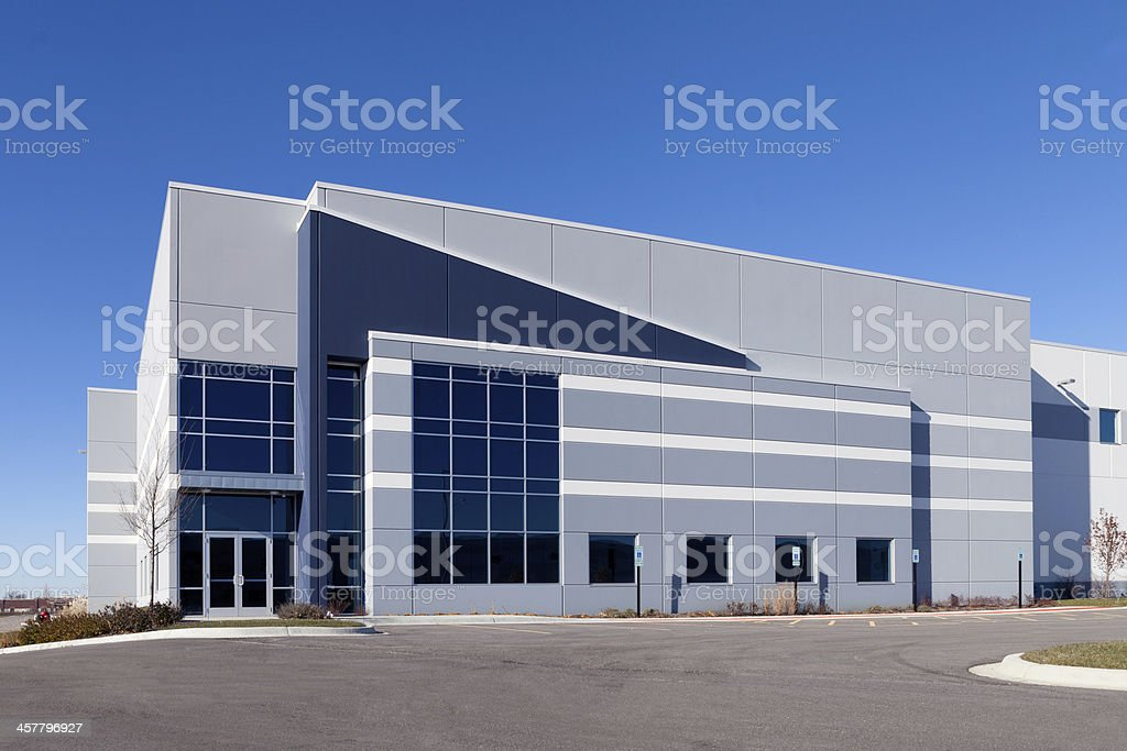 Warehouse Building stock photo