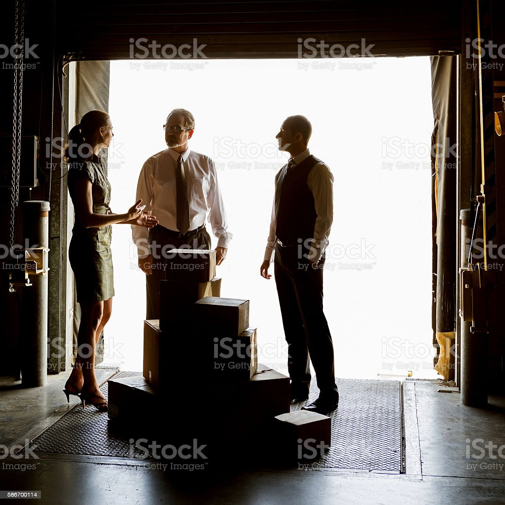 Warehouse Delivery stock photo