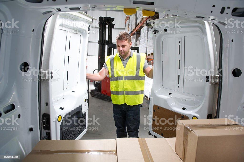 Warehouse Distribution royalty-free stock photo