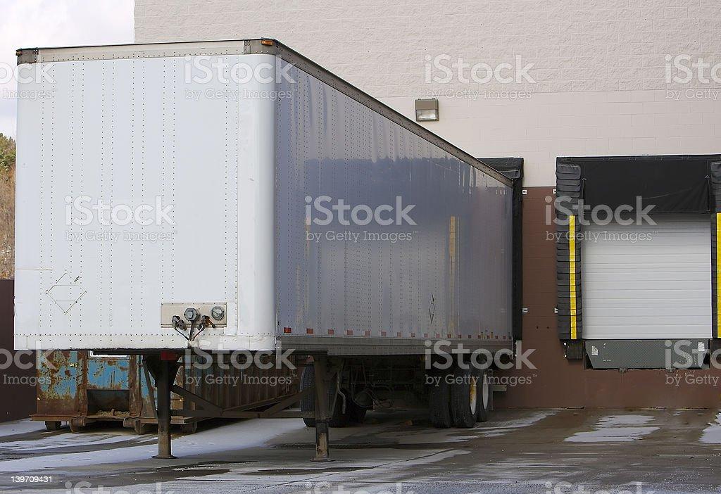 Warehouse dock royalty-free stock photo