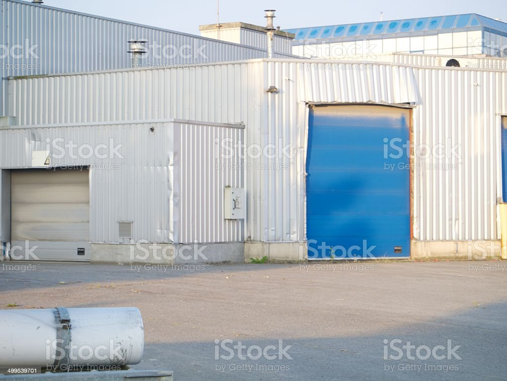 warehouse factory royalty-free stock photo