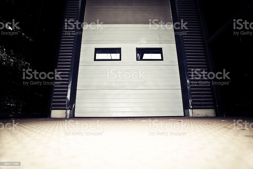 Warehouse Gate royalty-free stock photo