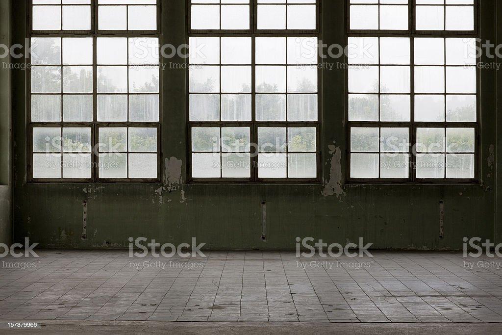 Warehouse Glass Facade stock photo