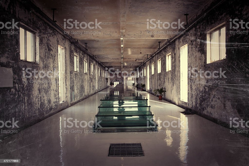Warehouse Hall royalty-free stock photo