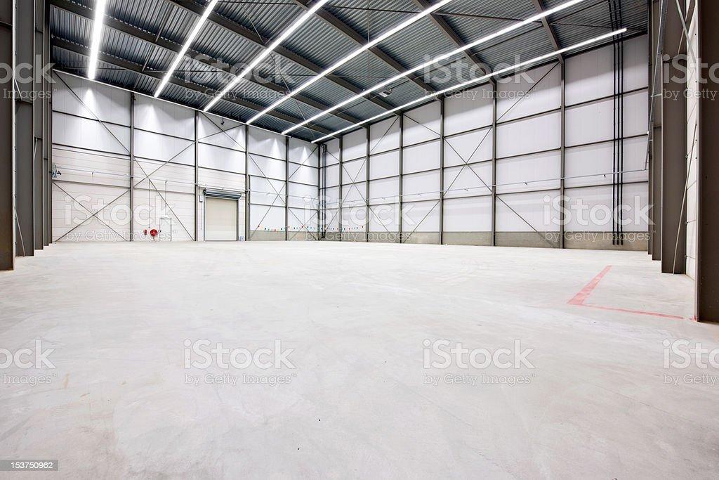 Warehouse interior royalty-free stock photo