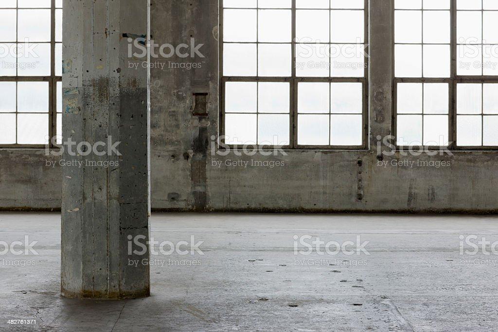 Warehouse Interior stock photo
