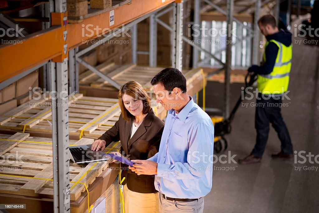 warehouse inventory royalty-free stock photo
