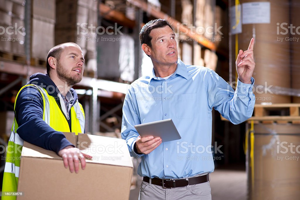 warehouse inventroy royalty-free stock photo