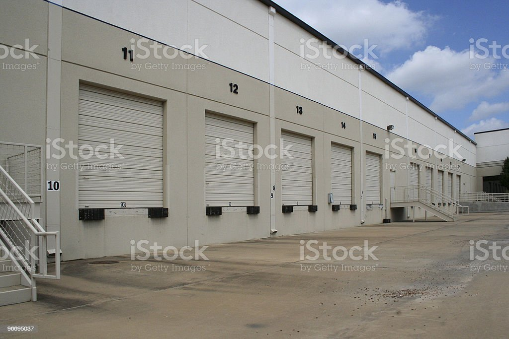 Warehouse Loading Dock02 stock photo