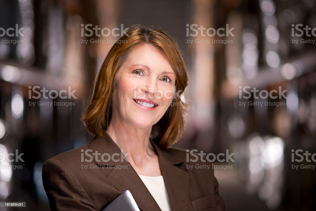 warehouse manager royalty-free stock photo