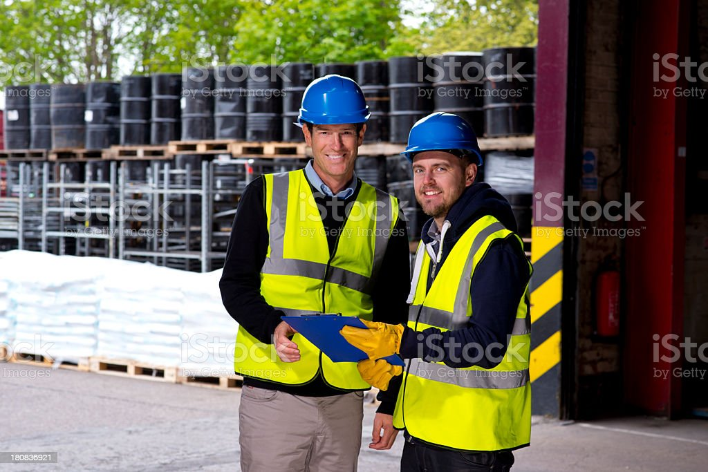 warehouse owner royalty-free stock photo