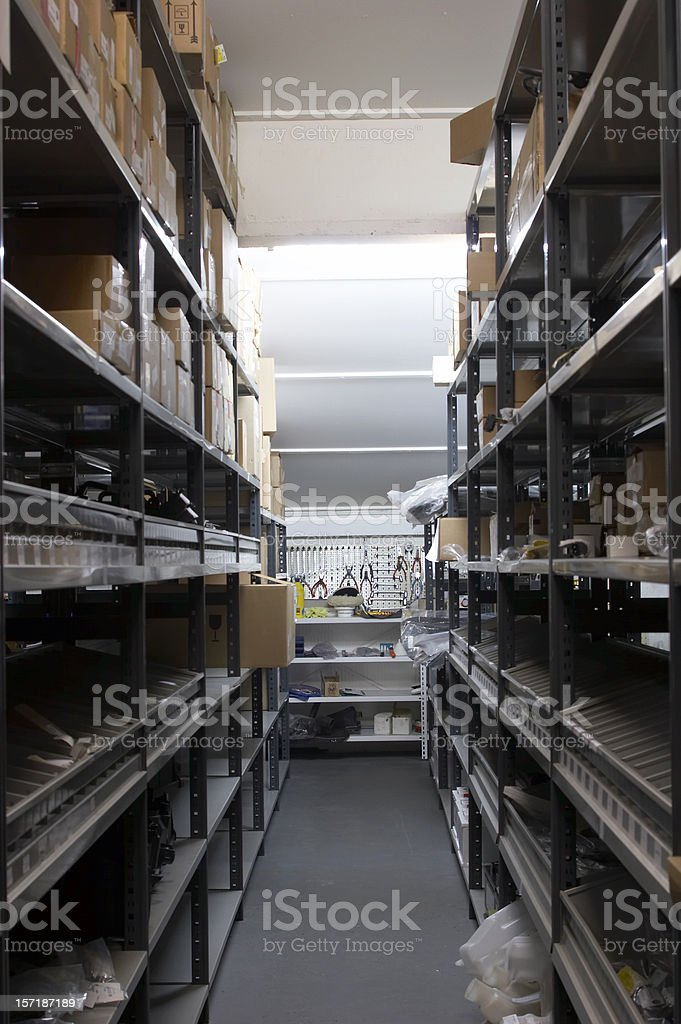warehouse royalty-free stock photo