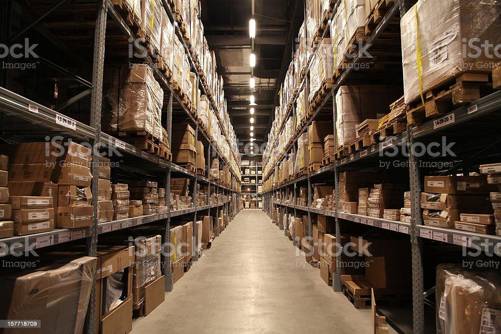 warehouse (XXXL) royalty-free stock photo