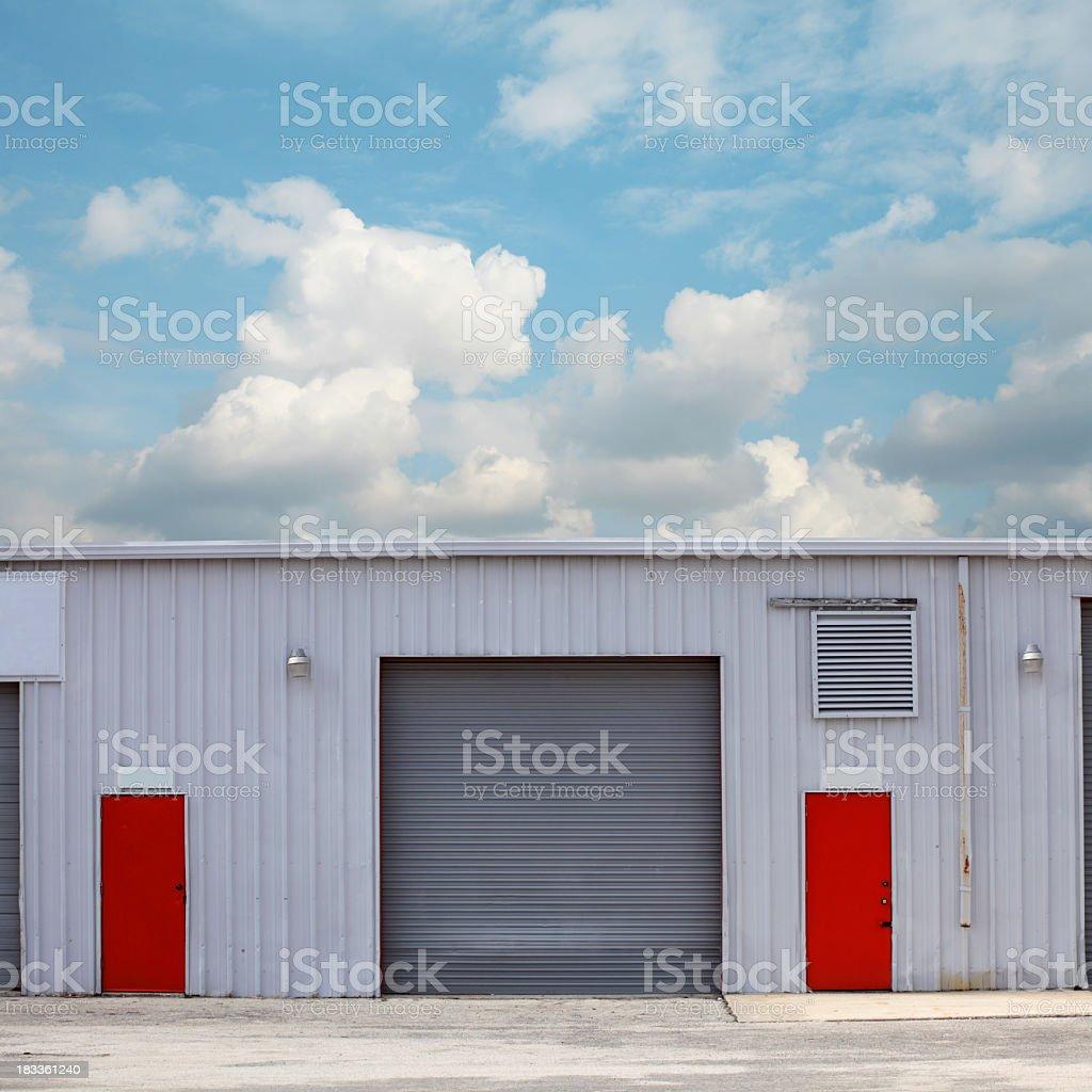 warehouse royalty-free stock photo