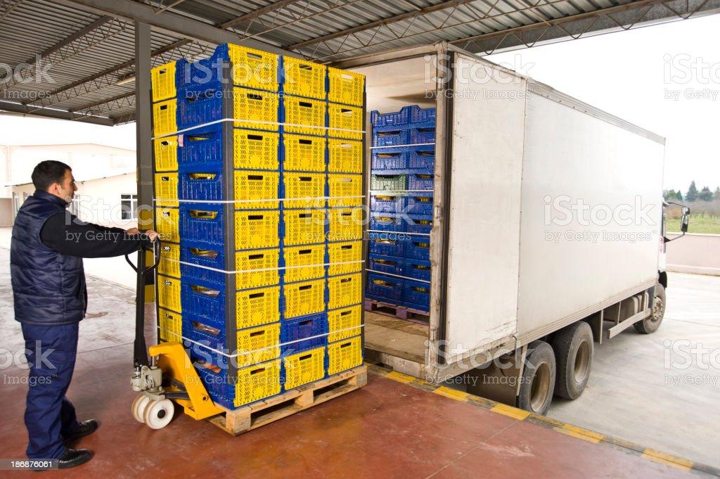 Warehouse Shipment stock photo