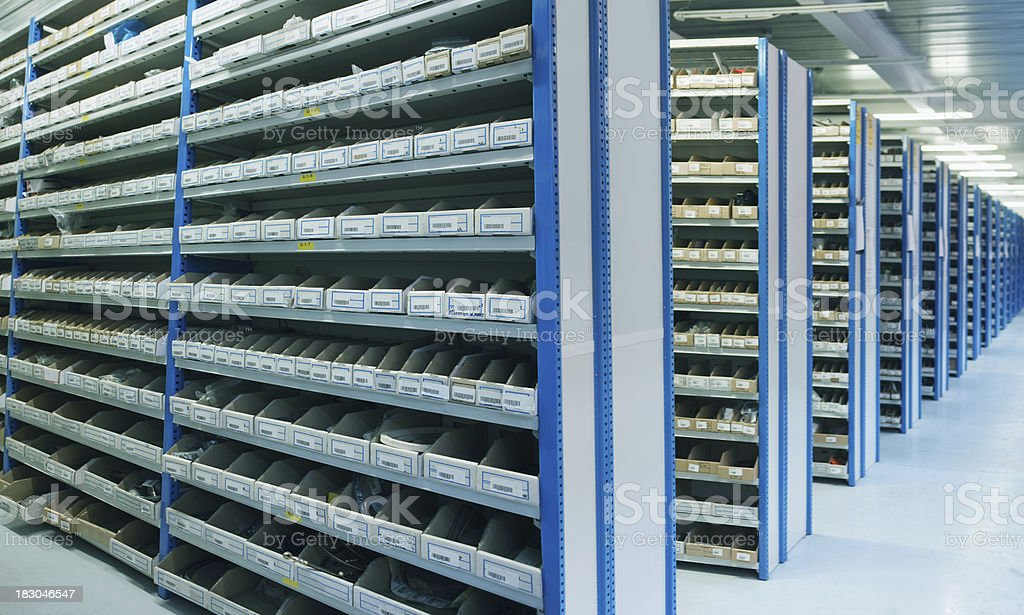 Warehouse storage stock photo