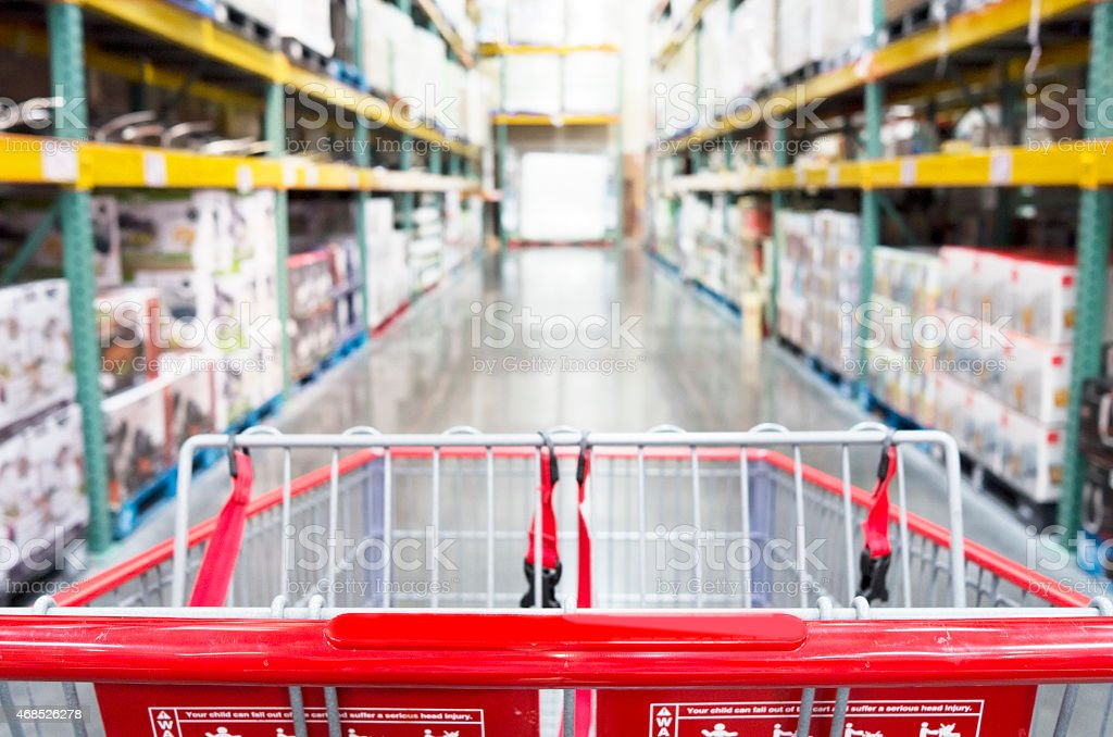 Warehouse store stock photo