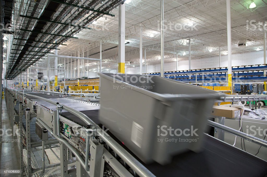 Warehouse System Series 7 stock photo