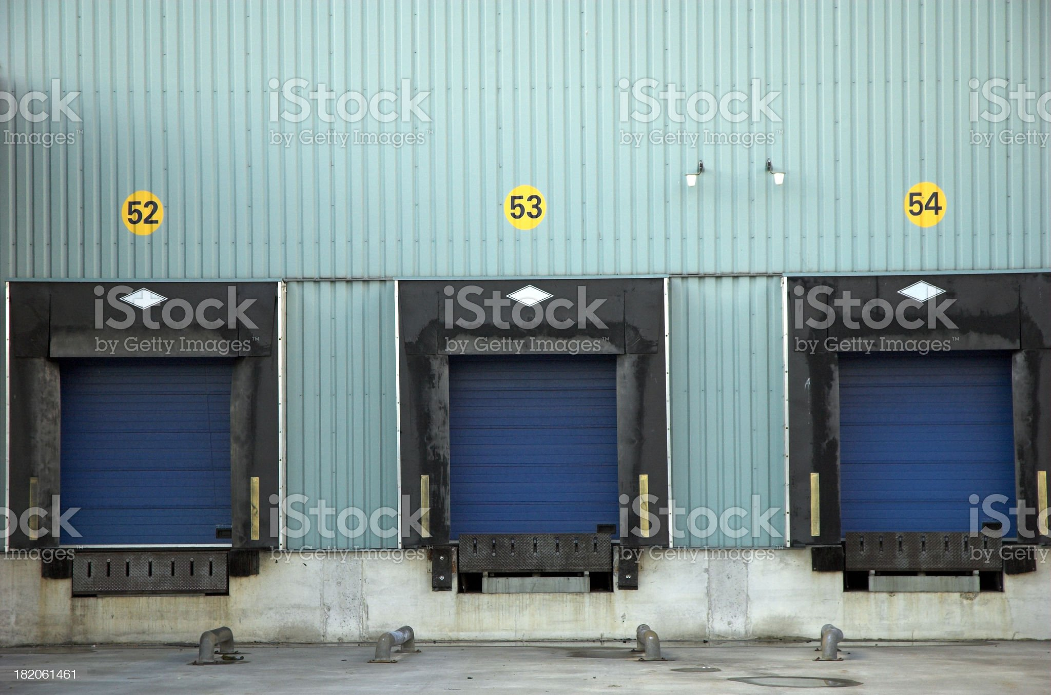 Warehouse transport#1 royalty-free stock photo