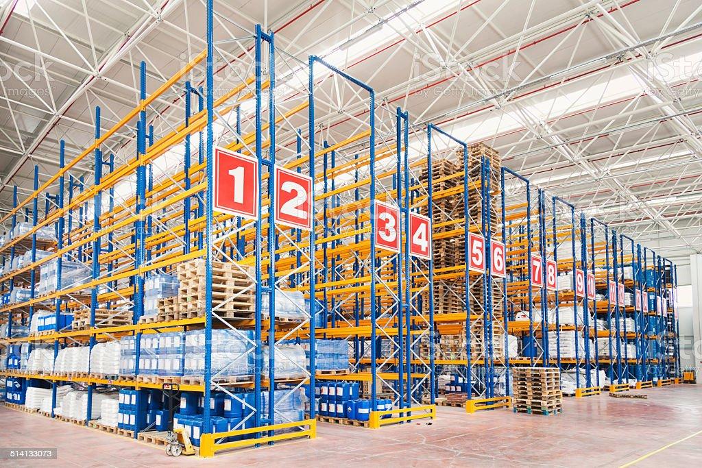 Warehouse XXXL stock photo